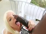 Hot Blonde Cannot Resist Not To Take That Amazing Black Cock