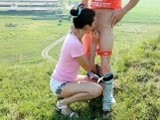Girl On High Heels Fucked by Boyfriend
