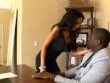 Horny Secretary Has A Surprise For  Her Boss