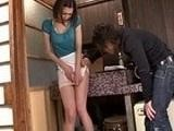 Immodest Boy Violates Uncles Hot Wife In Kitchen
