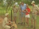 Blondie Girl Fucked by Many Cocks at Safari Trip