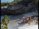Dirty Couple Fuck on a Public Beach