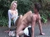 18 Year Old Boy Blond Fucked In Public Park