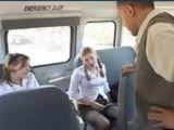 Two Horny Schoolgirls Fuck Busdriver