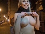 Naked on the Prague Streets