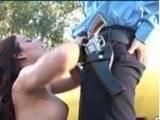 18 YO Teen Girl Seduce Policeman on Duty